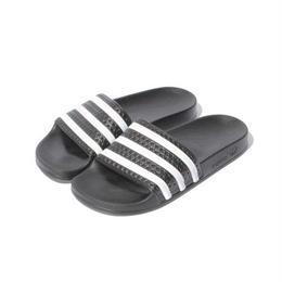 """【ラス1】adidas Originals """"ADILETTE"""" (Black)"""