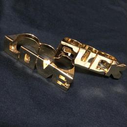 "RUGGED × RUDE BOYZ CLUB ""LOVE/FUCK"" RING  (SET)"