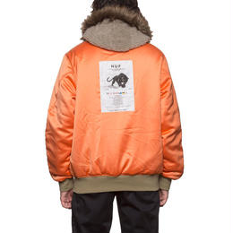 【残り僅か】HUF N2B JACKET (Desert Camo/Orange)