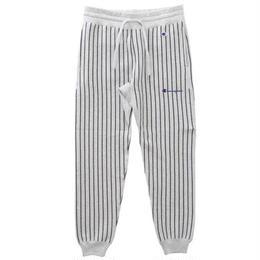 Champion ''REVERSE WEAVE'' stripe sweat pants   (Silver Gray)