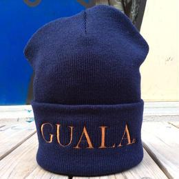 【ラス1】GUALA logo beanie(Navy)