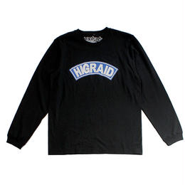 "【ラス1】visualreports""HIGRAID ARCH LOGO""L/S tee (Black)"