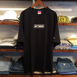 【残り僅か】SH*T KICKER 3D BOX LOGO CHAMPION tee(Black)