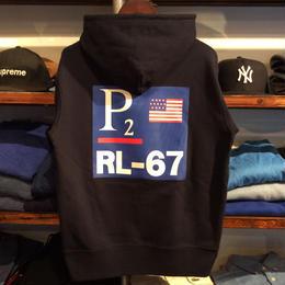 """THE ROHE PROJECT """"P2 PO"""" Parka(Navy)"""