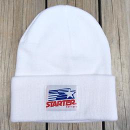 【ラス1】STARTER star flag beanie(White)