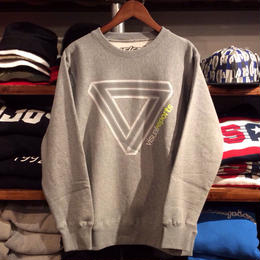 【ラス1】visualreports ''VR LOGO'' sweat (Gray/REFLECTOR)