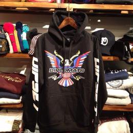 【残り僅か】DIPLOMATS USA hoody (black)