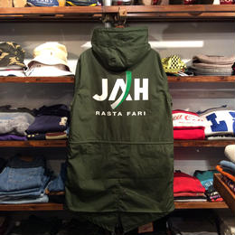"RUGGED ""JAH"" mods coat(Olive)"