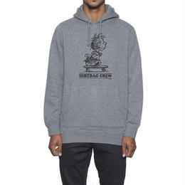 【残り僅か】HUF X PIGPEN PULLOVE (GREY HEATHER)