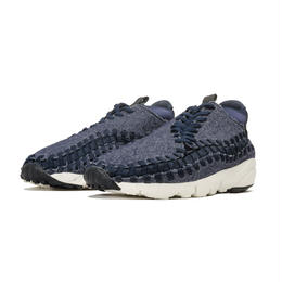 【残り僅か】NIKE  AIR FOOTSCAPE WOVEN CHUKKA SE (Navy/White/Black)
