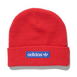 【ラス1】adidas woven logo beanie  (Red)