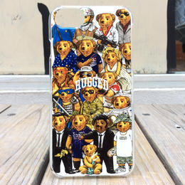 """【残り僅か】RUGGED """"MULTI BEAR"""" iPhone case (6Plus/7Plus)  ②"""