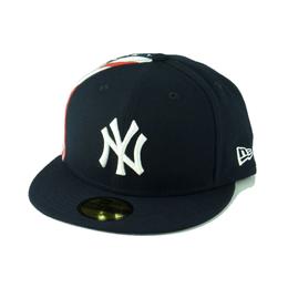 """【ラス1】 NEWERA FLAG SIDE 59FIFTY  """"NY"""" CAP (Navy)"""