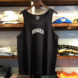 """RUGGED """"SMALL ARCH"""" tanktop(Navy)"""