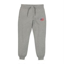 【残り僅か】Champion ''stars and stripes''wappen sweat pants  (Gray)