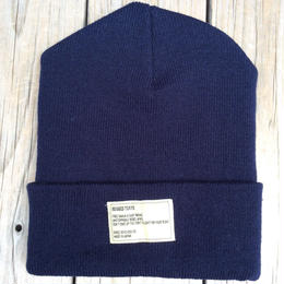 【残り僅か】RUGGED beanie(Navy×Off White)
