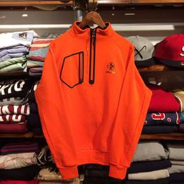 【残り僅か】RLX half zip nylon jersey (ORANGE)