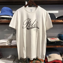 "【残り僅か】POLO RALPH LAUREN ""5th Avenue 711"" tee (White)"