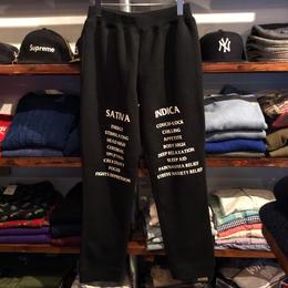 """【残り僅か】RUGGED """"SAT/IND"""" urbanfit sweat pants(Black)"""