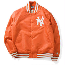 Majestic NY SATIN JACKET(Orange)