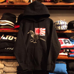 【ラス1】visualreports ''YATAGARASU'' heavy weight hoody (Black)