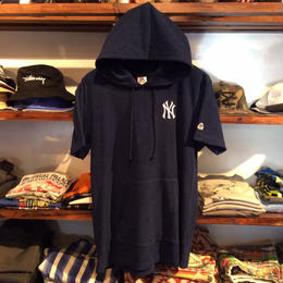 Majestic Pile tee parka (Navy)