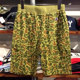 """【ラス1】Champion """"camouflage"""" sweat short pants"""