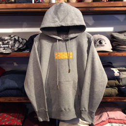 "【残り僅か】AnotA ""GOX"" hoody (Gray×Yellow)"
