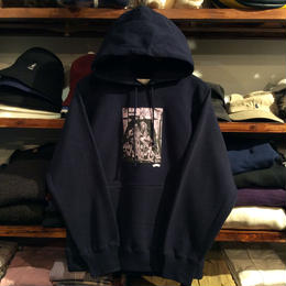 "【残り僅か】RUGGED ""SELASSIE"" sweat hoody(Navy)"