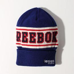 【残り僅か】Reebok logo beanie (Navy)