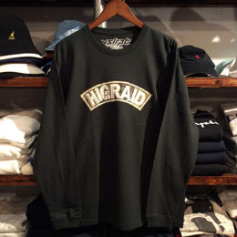 "【ラス1】visualreports ""REAL HIGRAID"" L/S tee(Forest)"