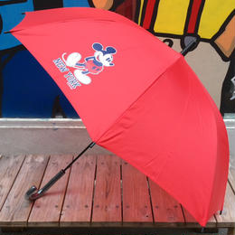 "【ラス1】SECOND LAB ""MICKEY NY""Umbrella(Red)"