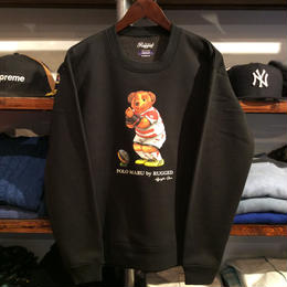 【残り僅か】RUGGED ''POLO MARU'' sweat(Black)