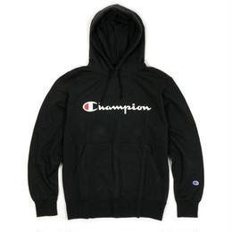 Champion logo hoodie(Black)