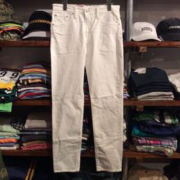 """【ラス1】Levi's """"511"""" Slim fit Strech Tapered Leg White Denim"""