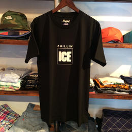 DJ MURO ''CHILLIN' ICE''    Tee-SHIRT付(Black)【RUGGED 5th Anniversary】
