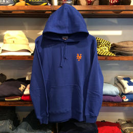 "Majestic ""METS one point"" hoody(Blue)"