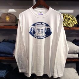 【ラス1】RUGGED ''RUGGED BROS'' L/S tee(White)