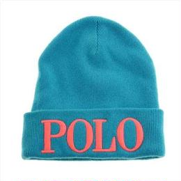"【残り僅か】POLO RALPH LAUREN ""POLO"" knit cap (Mint)"