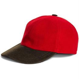 【ラス1】BROOKS BROTHERS wool baseball cap(Red)