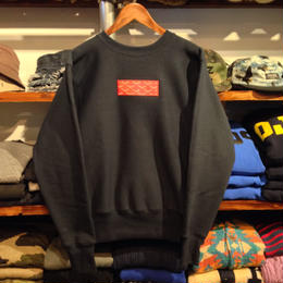 "【残り僅か】AnotA on Champion ""GOX""  reverse weave sweat (12.5oz./navy/Made in USA/RUGGED別注)"
