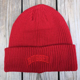 "【ラス1】RUGGED on Champion ""ARCH LOGO"" beanie(Red)"