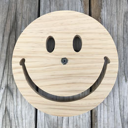"【ラス1】SECOND LAB. ""SMILE"" clock (Wood)"