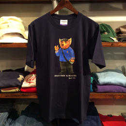 "【ラス1】RUGGED ""POLO TREK"" tee (Navy)"