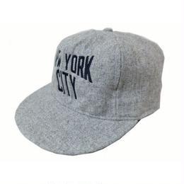 """【残り僅か】COOPERS TOWN """"New York City"""" BALL CAP (gray)"""