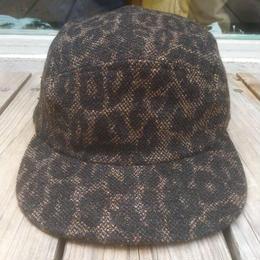 """【ラス1】NEW ERA """"leopard pattern"""" camp cap"""