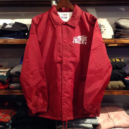 "【残り僅か】RUGGED ""CHILLIN'Z"" coach jacket (Burgundy)"