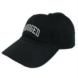 RUGGED ''ARCH LOGO'' adjuster cap (Black)