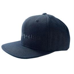 【ラス1】visualreports ''FUCK THE SYSTEM'' Snapback cap (Black×Black)