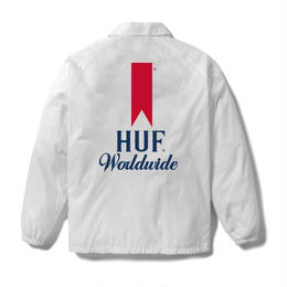 【ラス1】HUF ULTRA COACHES JACKET (White)